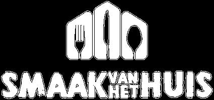 smaak van het huis logo wit